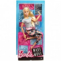 Barbie Rubia Fashionista Made to Move - Mattel FTG81