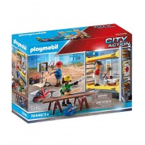 Playmobil 70446 City Action Andamio Obrero Construcción