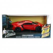Coche Radio Control Lykan Hypersport Fast and Furious  Escala 1/24