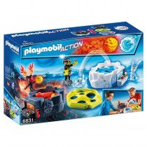 Zona de Combate con Robots, Sports & Action - Playmobil 6831
