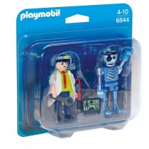 Duo Pack Científico y Robot, City Action - Playmobil 6844