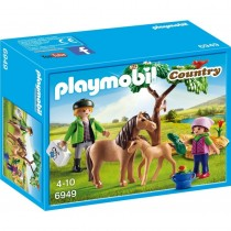 Veterinario con Ponis, Country - Playmobil 6949