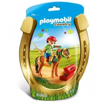 Jinete con Poni Flor, Country - Playmobil 6968