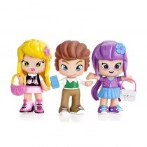 Pack Julia, Wiliam y Lilith, Piny - Famosa 23287
